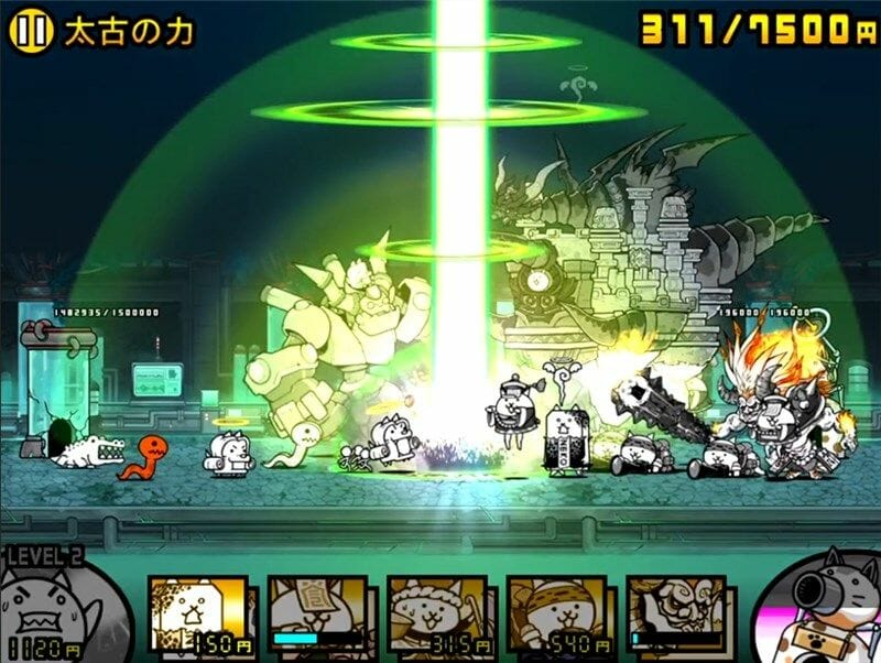 天城龍バベルの攻撃